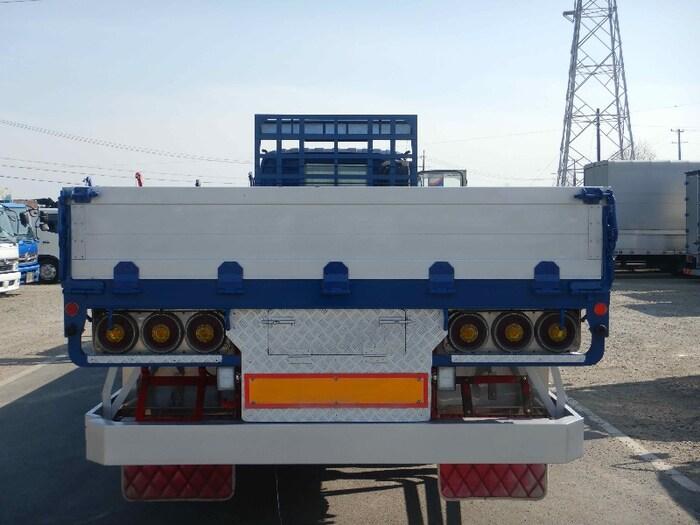 いすゞ ギガ 大型 平ボディ アルミブロック ベッド|トラック 背面・荷台画像 トラック市掲載
