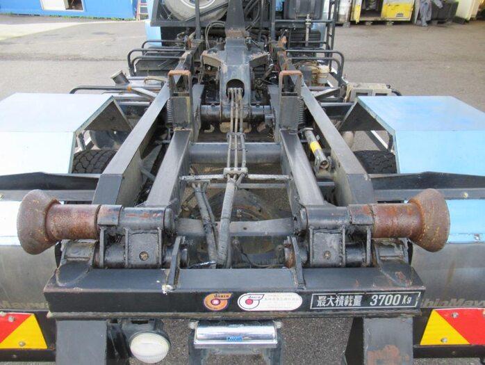 三菱 ファイター 中型 アームロール ベッド TKG-FK61F 画像15