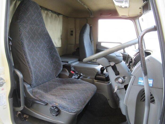 三菱 ファイター 中型 ウイング エアサス ベッド|積載 6.9t トラック 画像 ステアリンク掲載