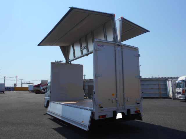 三菱 キャンター 小型 ウイング 2PG-FEB50 R2 シフト MT5 トラック 画像 ステアリンク掲載