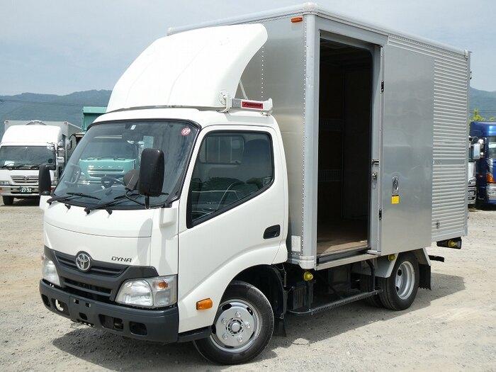 トヨタ ダイナ 小型 アルミバン サイドドア TKG-XZU605|画像1