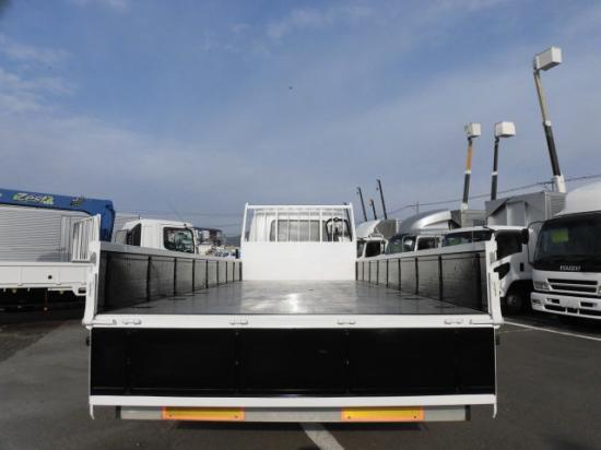 三菱 ファイター 中型 平ボディ ベッド PDG-FK62FZ|車検  トラック 画像 キントラ掲載