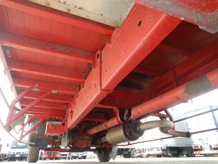 日野 レンジャー 中型 平ボディ 床鉄板 アルミブロック|架装  トラック 画像 トラックバンク掲載