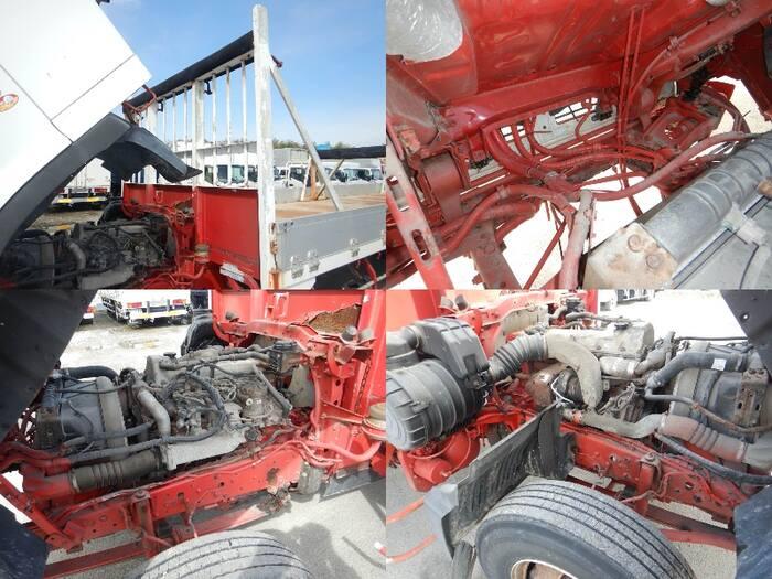 日野 レンジャー 中型 平ボディ 床鉄板 アルミブロック|型式 PB-FD7JUFA トラック 画像 栗山自動車掲載
