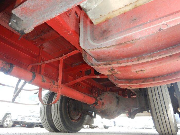 日野 レンジャー 中型 平ボディ 床鉄板 アルミブロック|走行距離 5.2万km トラック 画像 トラックランド掲載