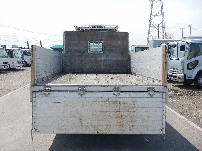 三菱 ファイター 中型 平ボディ アルミブロック PA-FK71F|トラック 背面・荷台画像 トラック市掲載