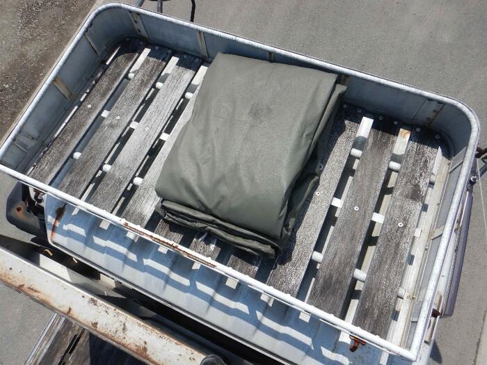 三菱 ファイター 中型 平ボディ アルミブロック PA-FK71F|走行距離 8.3万km トラック 画像 トラックランド掲載