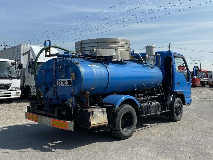 いすゞ エルフ 小型 タンク車 給水車 PA-NPR81N 画像2