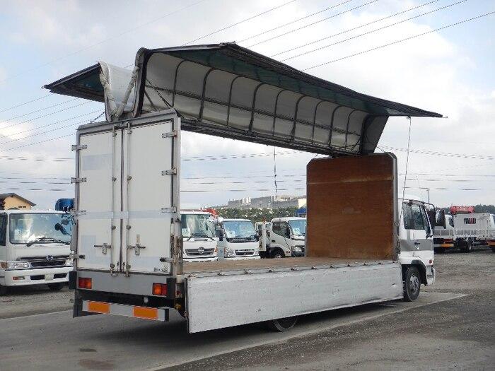 日産UD コンドル 中型 ウイング 幌ウイング ベッド|トラック 背面・荷台画像 トラック市掲載