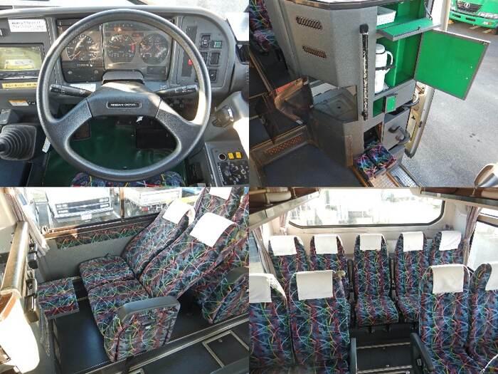 日産UD その他 大型 バス 観光バス KL-RA552RBN 運転席 トラック 画像 トラック王国掲載