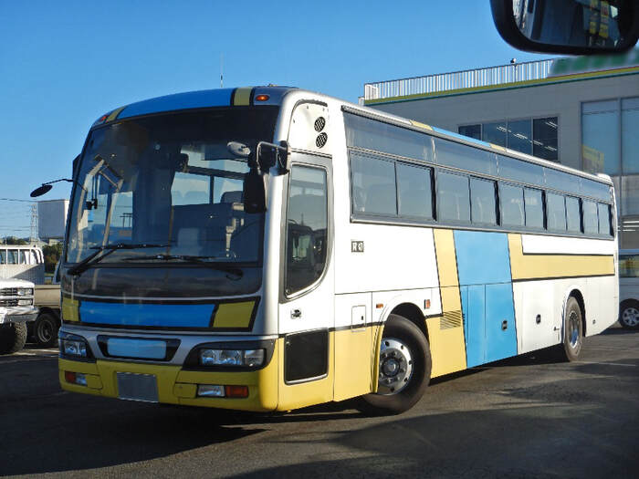 日産UD その他 大型 バス 観光バス KL-RA552RBN トラック 左前画像 トラックバンク掲載
