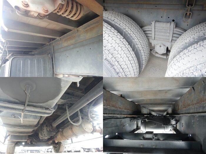 日産UD クオン 大型 平ボディ 床鉄板 アルミブロック|フロントガラス トラック 画像 トラック王国掲載