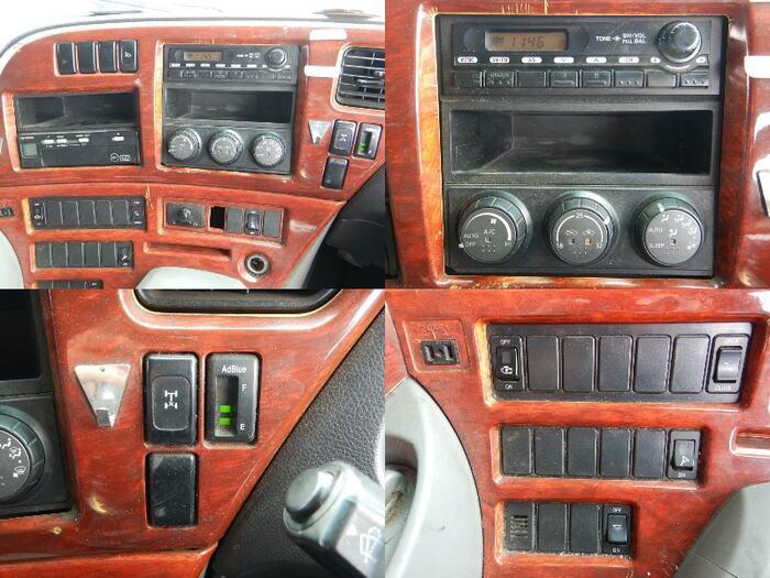日産UD クオン 大型 平ボディ 床鉄板 アルミブロック|架装  トラック 画像 トラックバンク掲載