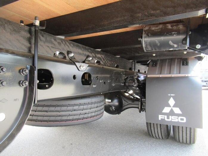 三菱 ファイター 中型 平ボディ アルミブロック ベッド|画像16