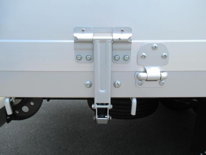 三菱 ファイター 中型 平ボディ アルミブロック ベッド|画像11