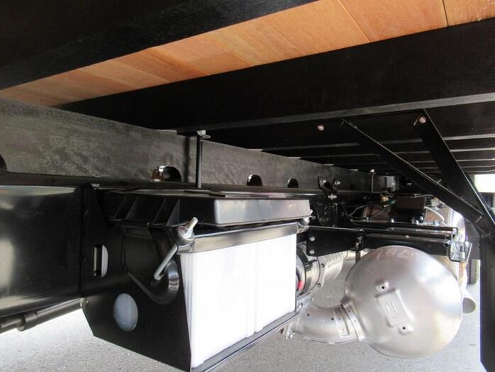 三菱 ファイター 中型 平ボディ アルミブロック ベッド|画像14