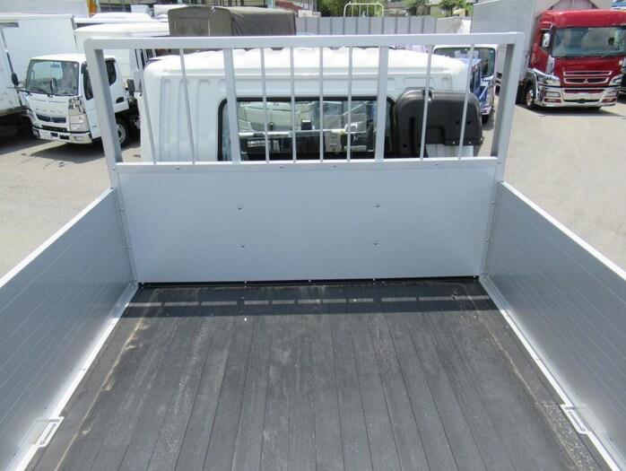 三菱 ファイター 中型 平ボディ アルミブロック ベッド|画像6