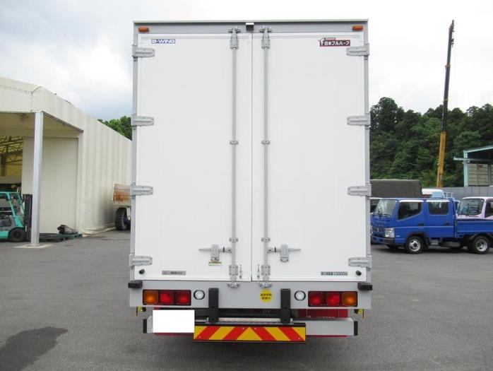 三菱 スーパーグレート 大型 ウイング ハイルーフ エアサス|トラック 背面・荷台画像 トラック市掲載