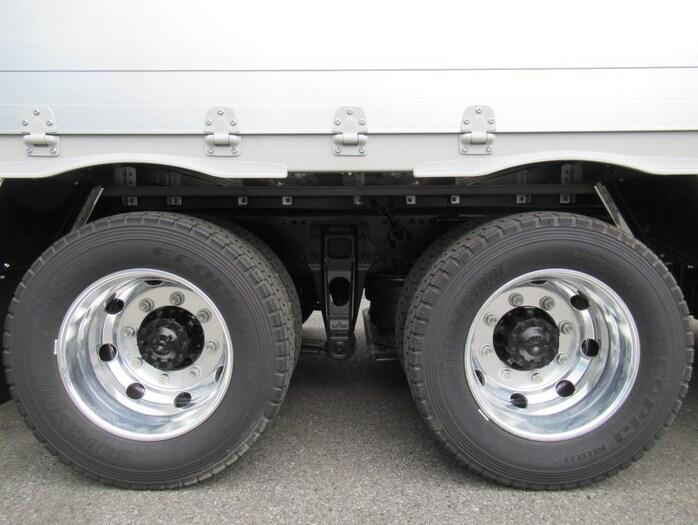 三菱 スーパーグレート 大型 ウイング ハイルーフ エアサス|コーションプレート トラック 画像 リトラス掲載