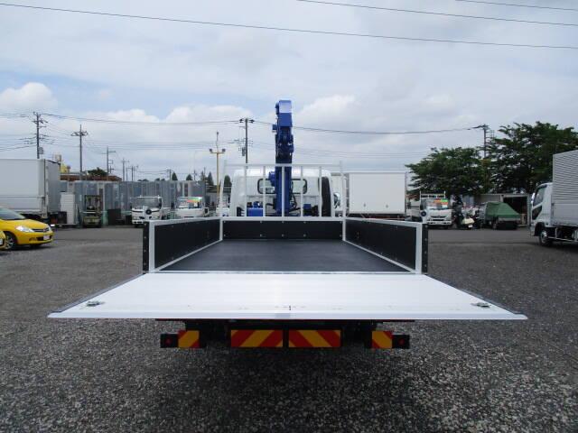 三菱 キャンター 小型 クレーン付 パワーゲート 4段|フロントガラス トラック 画像 トラック王国掲載