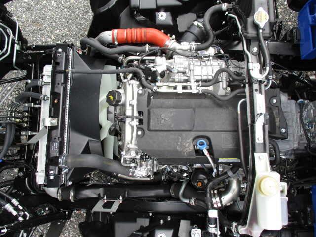 三菱 キャンター 小型 クレーン付 パワーゲート 4段|積載 3.45t トラック 画像 ステアリンク掲載