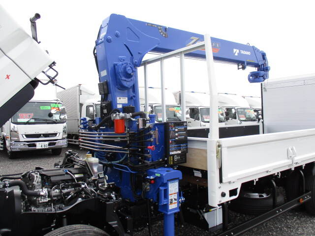 三菱 キャンター 小型 クレーン付 パワーゲート 4段|型式 2PG--FEB90 トラック 画像 栗山自動車掲載
