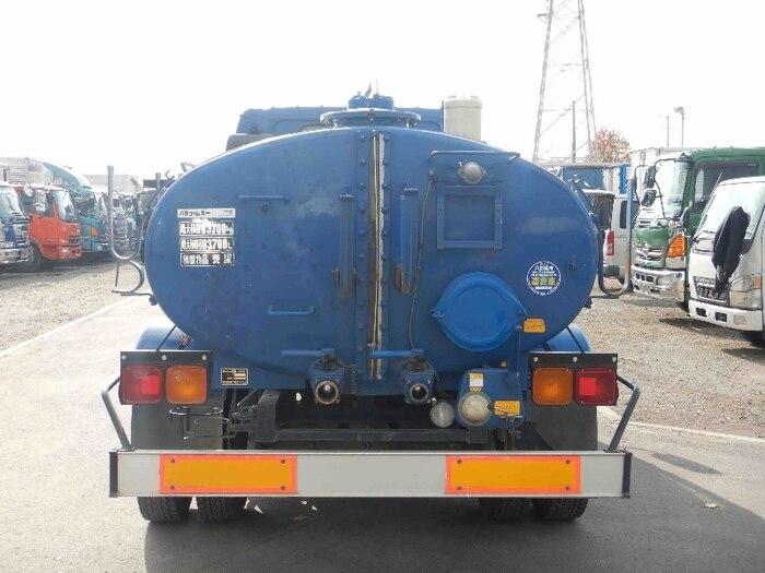 いすゞ フォワード 中型 タンク車 バキューム KK-NRR35C3|トラック 背面・荷台画像 トラック市掲載