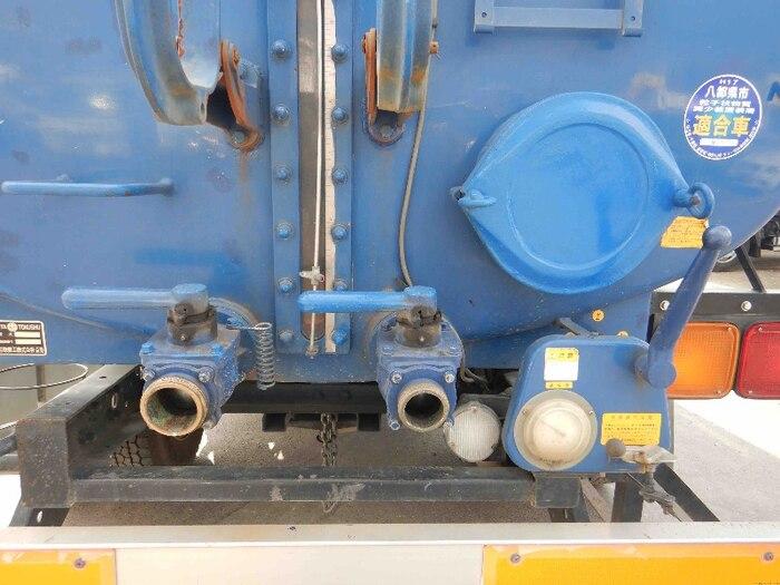 いすゞ フォワード 中型 タンク車 バキューム KK-NRR35C3|架装 モリタ トラック 画像 トラックバンク掲載