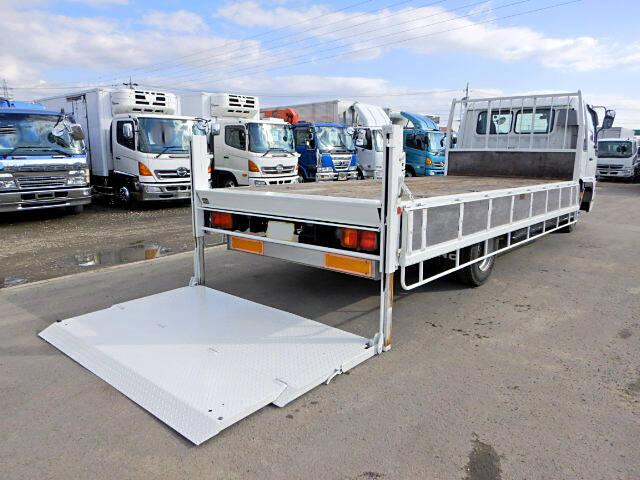 日野 レンジャー 中型 平ボディ パワーゲート ベッド|トラック 右後画像 リトラス掲載