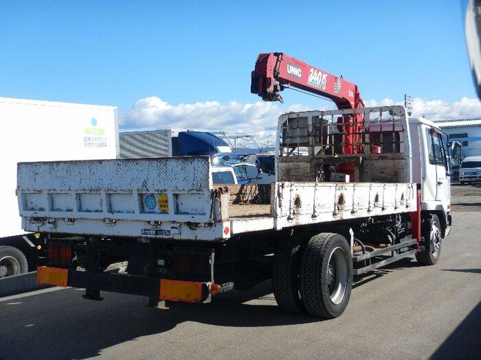 日産UD コンドル 中型 車輌重機運搬 3段クレーン ラジコン|画像2
