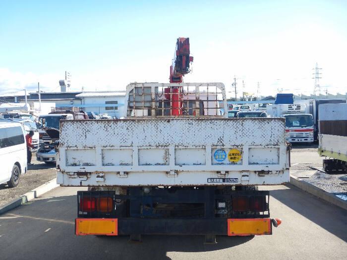 日産UD コンドル 中型 車輌重機運搬 3段クレーン ラジコン|画像3