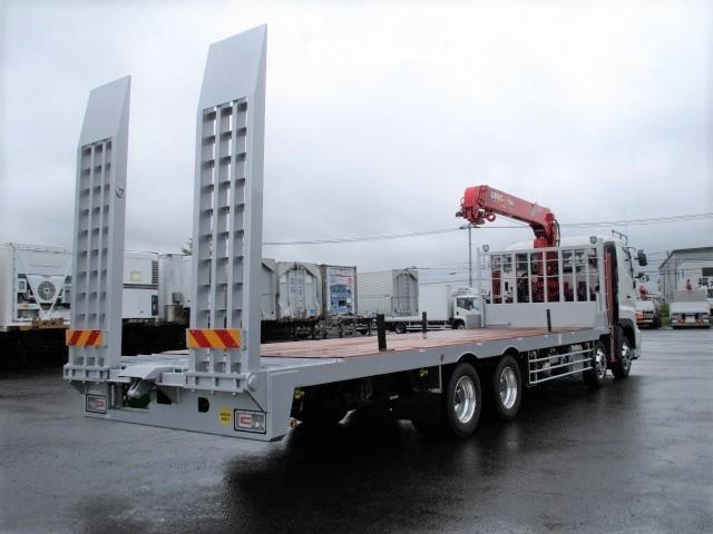 日野 プロフィア 大型 車輌重機運搬 4段クレーン フックイン 画像2