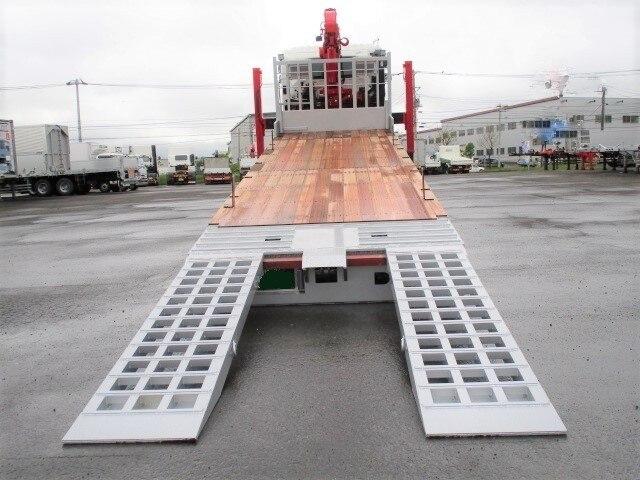 日野 プロフィア 大型 車輌重機運搬 4段クレーン フックイン 画像4