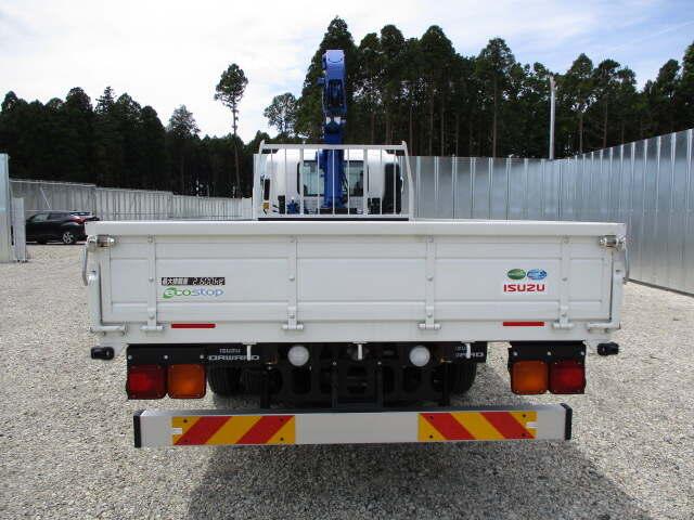 いすゞ フォワード 中型 クレーン付 4段 ラジコン|トラック 背面・荷台画像 トラック市掲載
