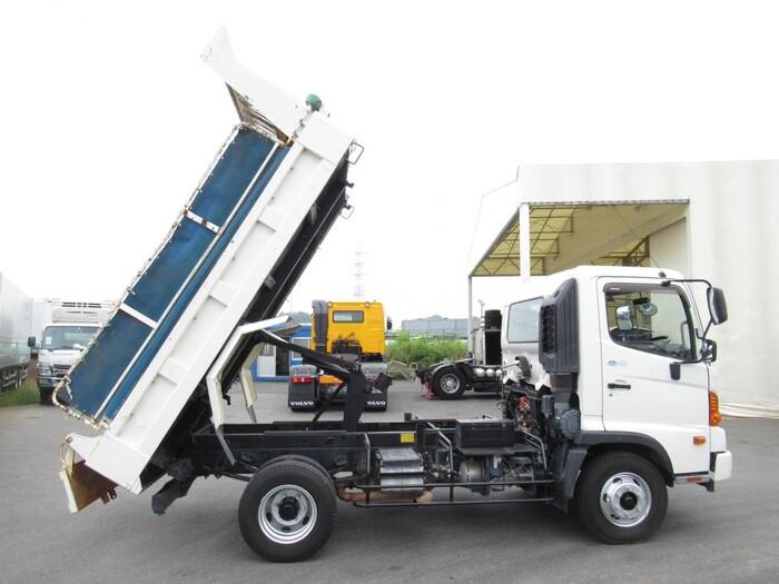 日野 レンジャー 中型 ダンプ コボレーン TKG-FC9JCAP トラック 背面・荷台画像 トラック市掲載