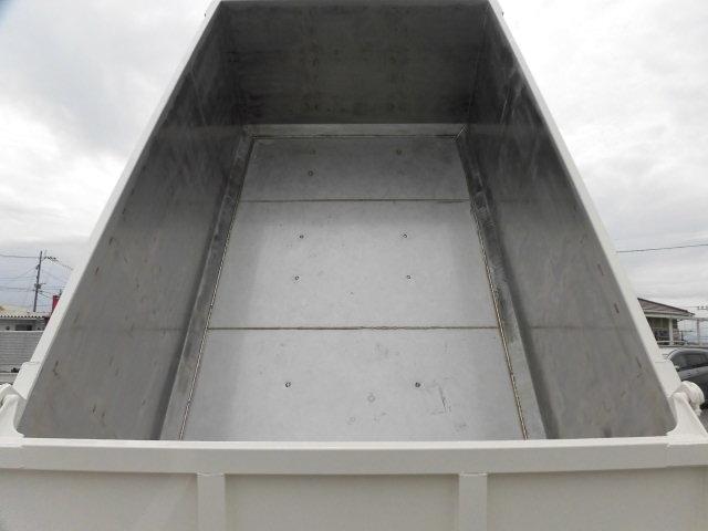 日野 レンジャー 中型 ダンプ 土砂禁 ステンレス張り|画像3