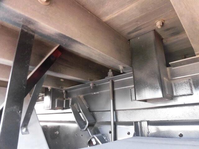 いすゞ ギガ 大型 平ボディ 床鉄板 アルミブロック|画像12