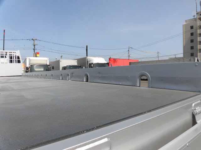 いすゞ ギガ 大型 平ボディ 床鉄板 アルミブロック|画像4
