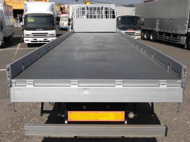 いすゞ ギガ 大型 平ボディ 床鉄板 アルミブロック|画像3