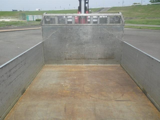 三菱 ファイター 中型 クレーン付 床鉄板 アルミブロック|画像3