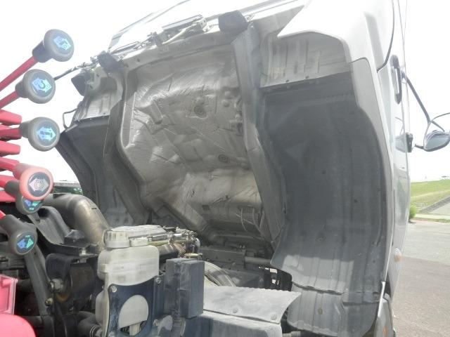 三菱 ファイター 中型 クレーン付 床鉄板 アルミブロック|画像15