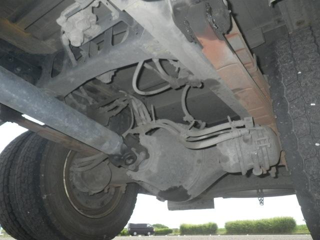 三菱 ファイター 中型 クレーン付 床鉄板 アルミブロック|画像18