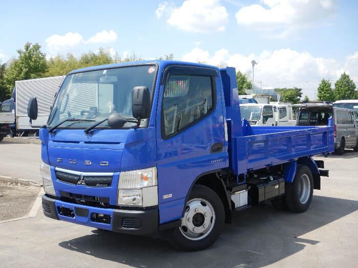 三菱 キャンター 小型 ダンプ 強化 TPG-FDA60|トラック 左前画像 トラックバンク掲載