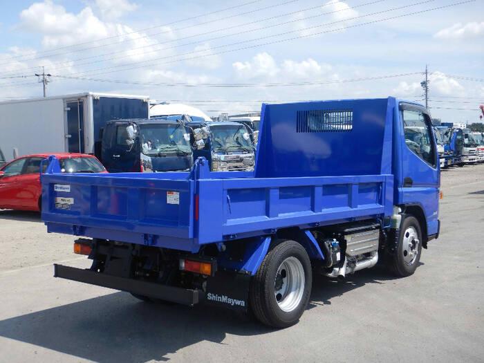 三菱 キャンター 小型 ダンプ 強化 TPG-FDA60|トラック 右後画像 リトラス掲載