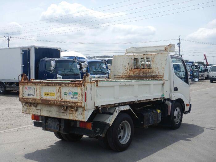 トヨタ ダイナ 小型 ダンプ ローダー コボレーン|トラック 右後画像 リトラス掲載