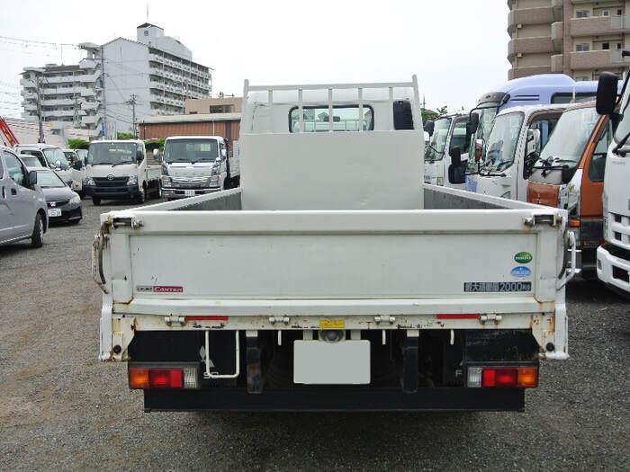 三菱 キャンター 小型 平ボディ TKG-FEB20 H27|トラック 背面・荷台画像 トラック市掲載