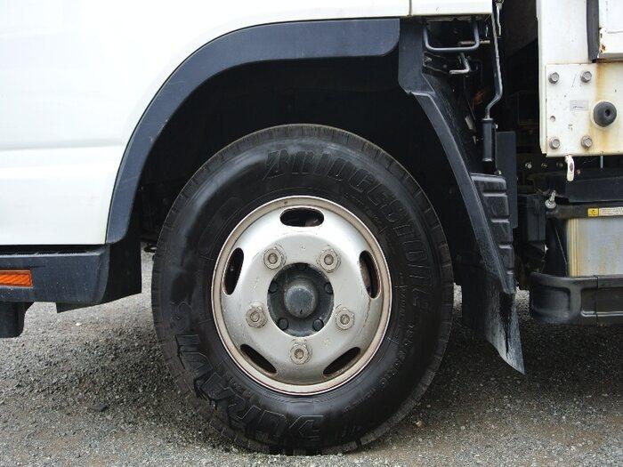 三菱 キャンター 小型 平ボディ TKG-FEB20 H27|積載 2t トラック 画像 ステアリンク掲載