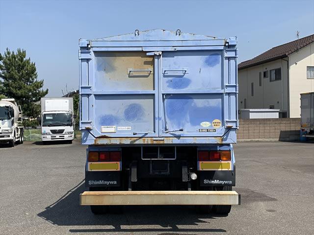 三菱 ファイター 中型 ダンプ 土砂禁 天蓋付き|積載 7.3t トラック 画像 ステアリンク掲載