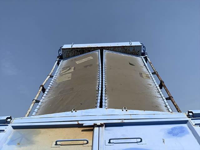 三菱 ファイター 中型 ダンプ 土砂禁 天蓋付き|トラック 背面・荷台画像 トラック市掲載