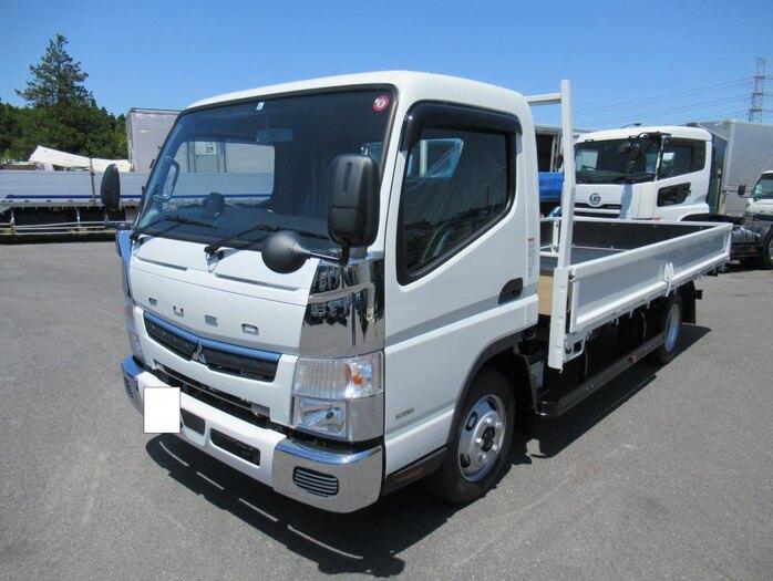 三菱 キャンター 小型 平ボディ 2PG-FEB50 |トラック 左前画像 トラックバンク掲載
